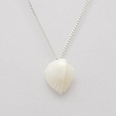 Angel wing shell necklace