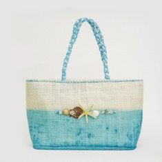 [SALE] Marine Blue Beach Bag _ 수평선
