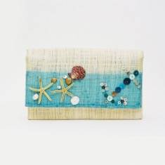 [SALE] Marine Blue Clutch Bag